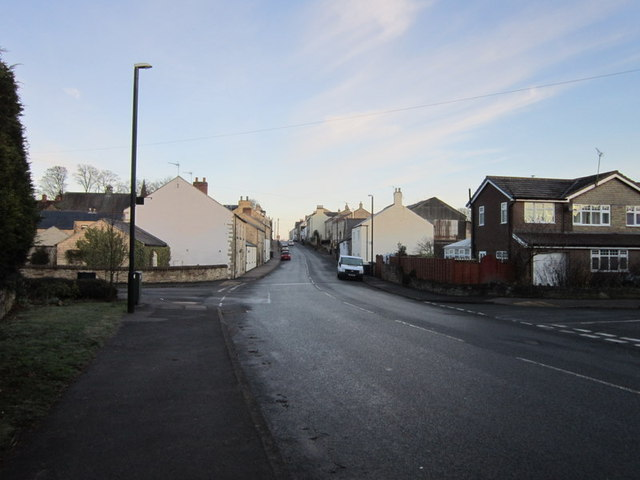 The Great North Road at Aberford