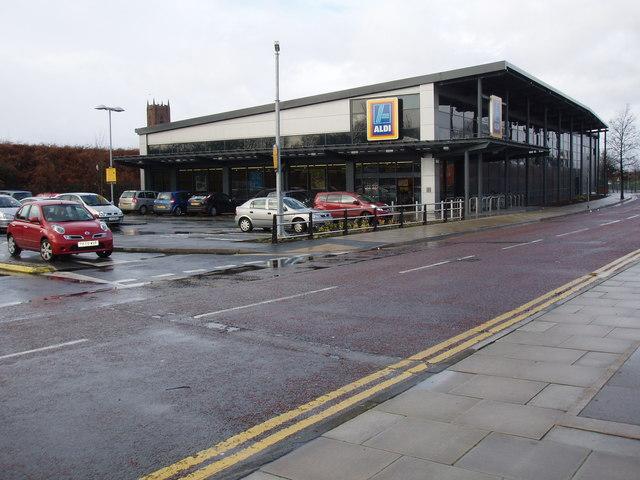 Aldi Supermarket Bootle