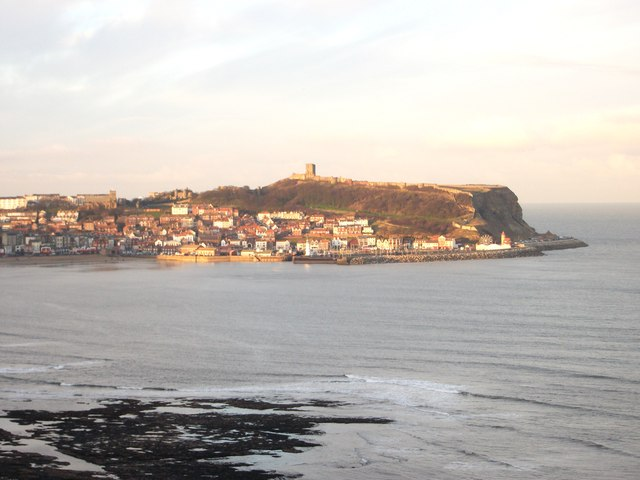 South Bay & Scarborough Castle from White Nab