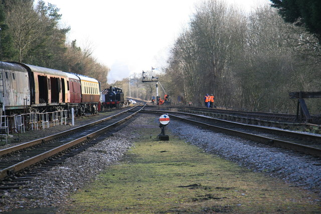 From Rothley station towards Leicester