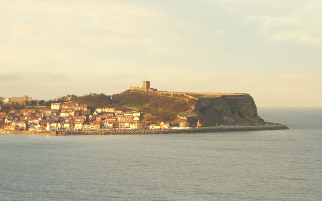 Scarborough Castle & the old town