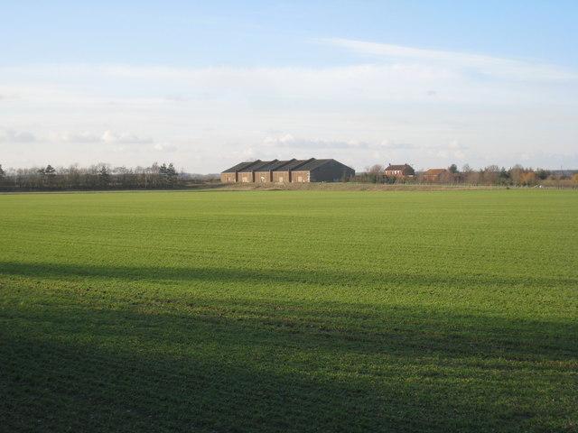 View towards Birkhouse Farm