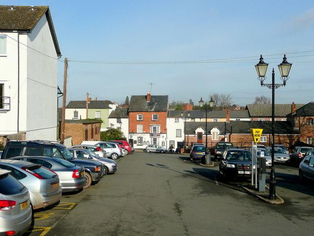 New Street car park, Ross-on-Wye