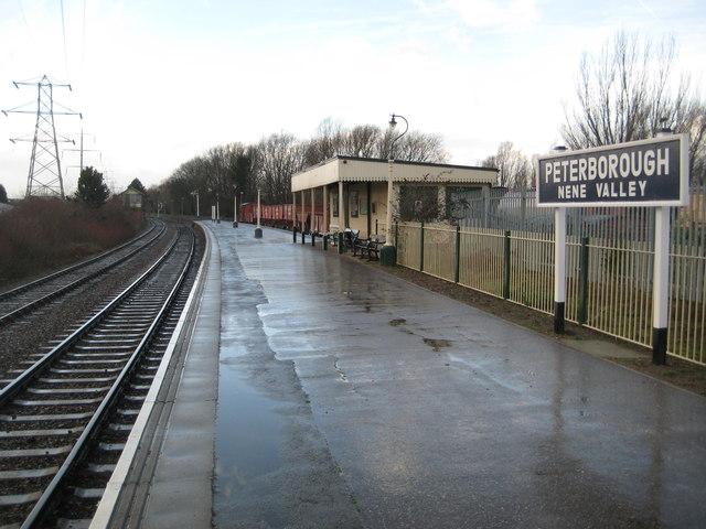 Nene Valley Railway: Peterborough Nene Valley Station (1)