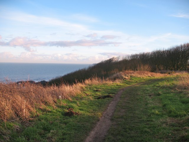 Cleveland Way at Wheatcroft Cliff