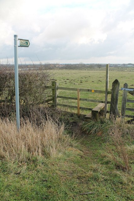 Public Footpath Entrance and Stile