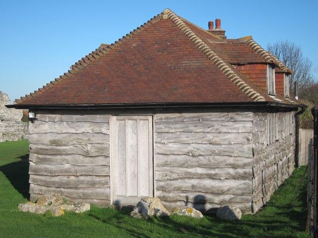 Visitor centre at Richborough Castle
