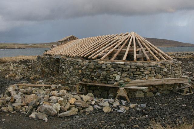 Replica Viking Longhouse, Haroldswick