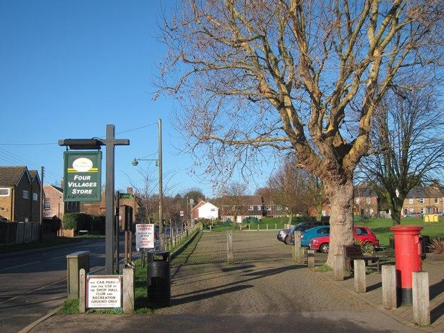 Village car park