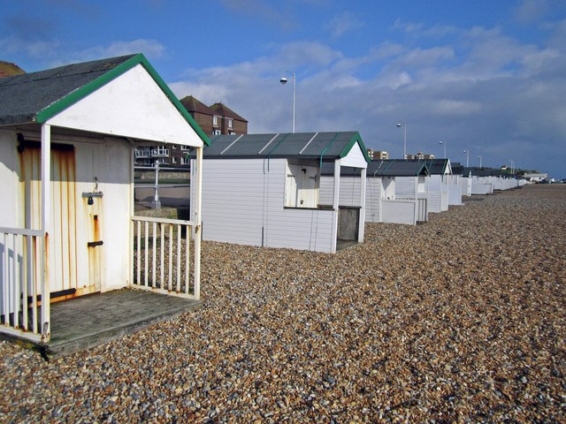White Beach Huts