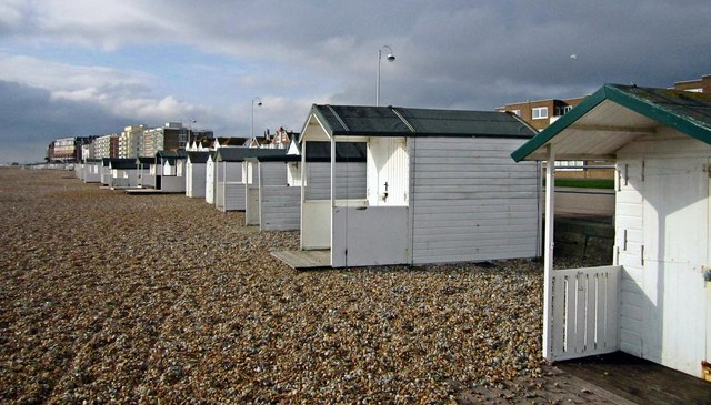 White Beach Huts