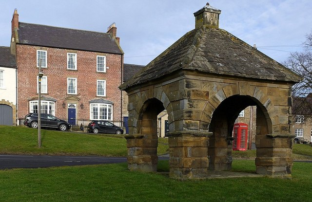 Market Cross, Stamfordham Village Green