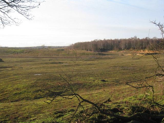 Former sand pit