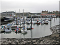 TA0588 : Dull day in the old harbour by Pauline Eccles