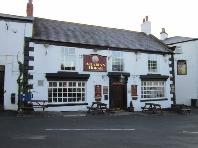 The Arabian Horse, Aberford