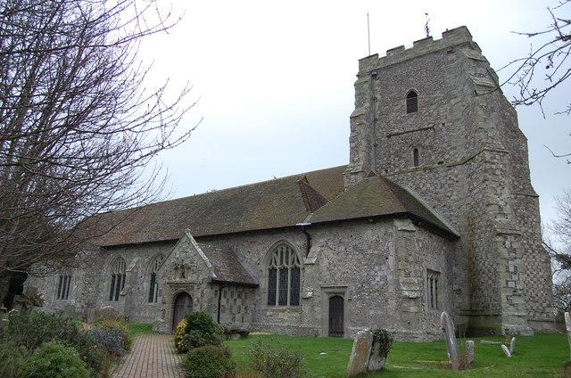 St Mary the virgin's church, Westham