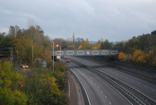Railway Bridge over the Blackwater Valley Road