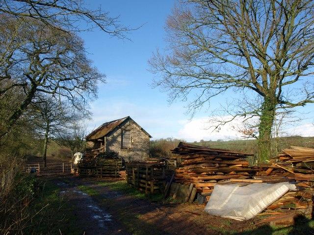 Barn near Curscombe