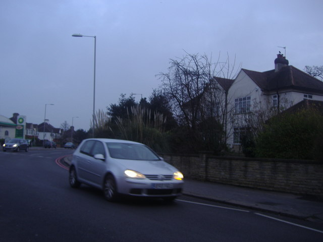 The corner of Addiscombe Road and Shirley Road