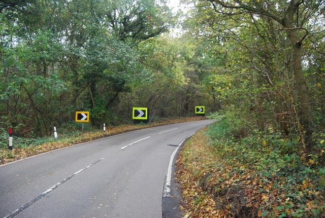 Bend, Thornden Wood Rd
