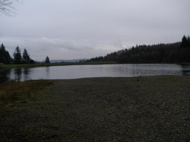 Reservoir in the Bishops Glen Dunoon