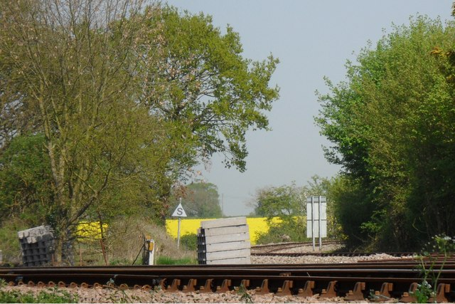 Aldeburgh branch line split from East Suffolk line
