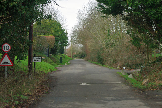 Hoe Lane becomes a private road