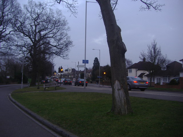 Wickham Road from Cheston Avenue