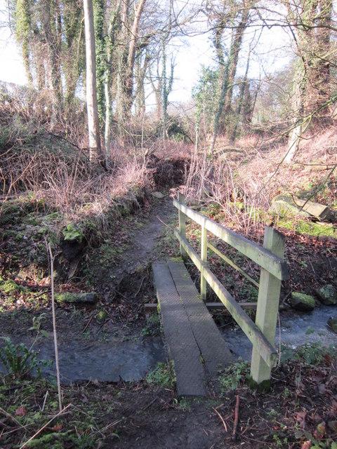 A bridge over Potterton Beck
