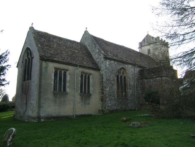 The old church at Churchend
