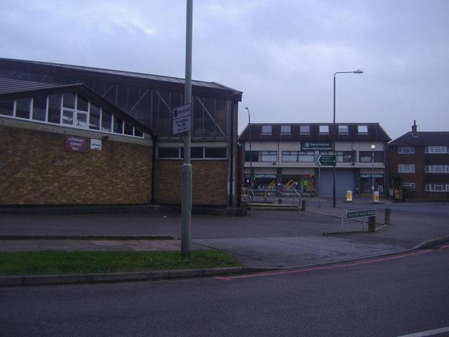Manor Park Road overlooking High Street, West Wickham