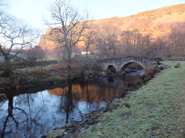 Bridge on the road to Badrallach near Dundonnell House