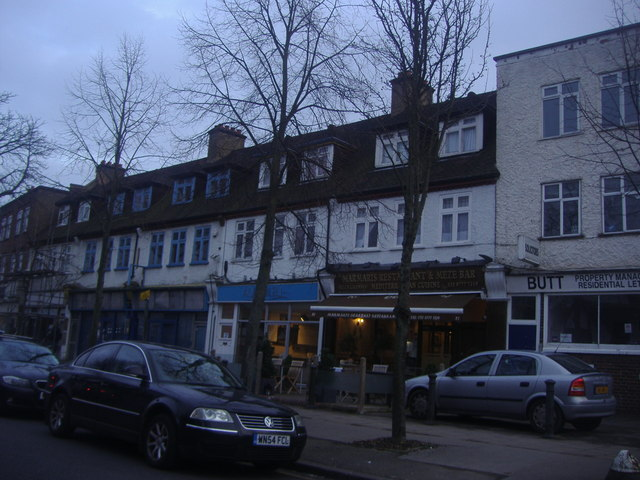 Shops on Ravenswood Crescent, West Wickham