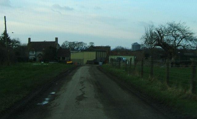 Farm approach track