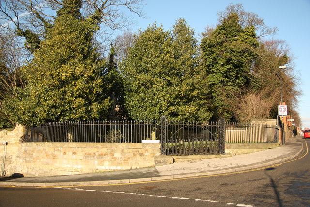The Lawn gates