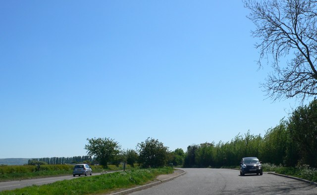 Layby on the A4109 road to Tewkesbury