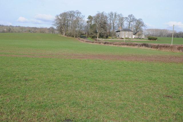 Farmland at Stowe