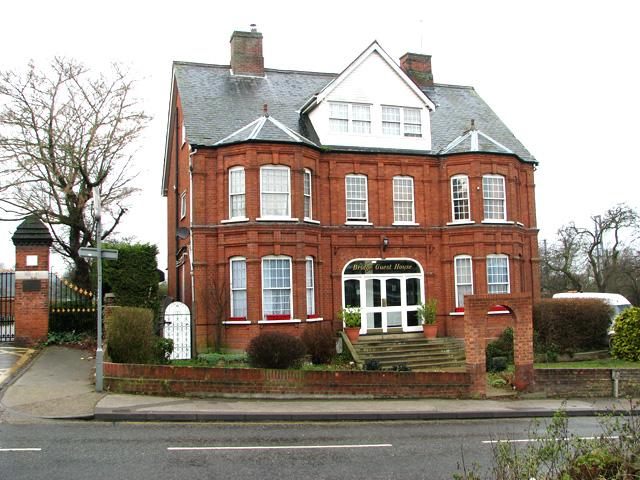 Bridge Guest House in Gippeswyck Avenue, Ipswich