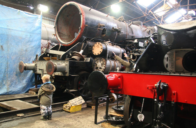 Great Central Railway - the workshop