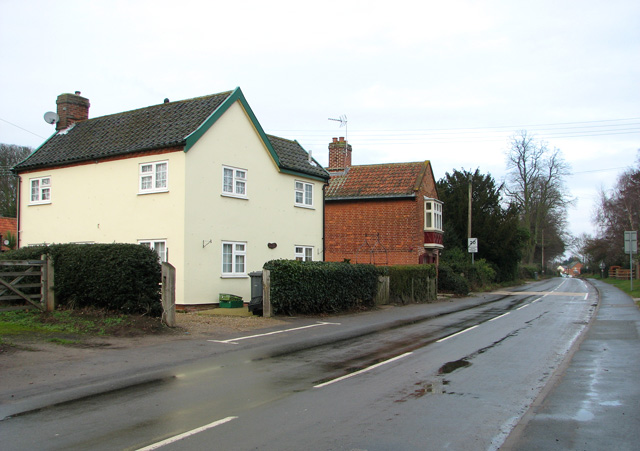 Cottages in The Street, Nacton