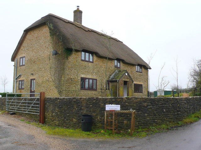 House at Kingcombe Cross Roads.