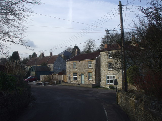 Junction of The Batch and The Street, Farmborough
