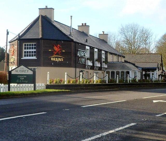 The Aubrey Arms near Bonvilston
