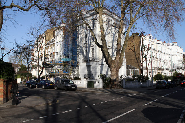 Chepstow Crescent and Pembridge Villas