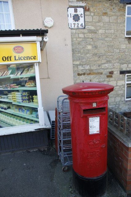 Postbox and plaque