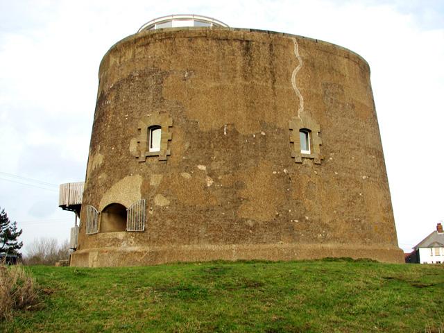 Martello Tower on Shingle Street