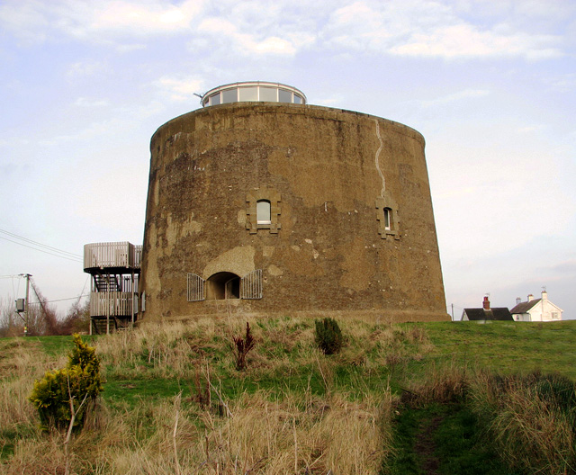 Martello Tower on Shingle Street