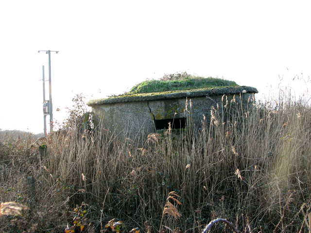 WWI pillbox, Shingle Street