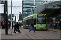 TQ3265 : Trams at East Croydon : Week 4