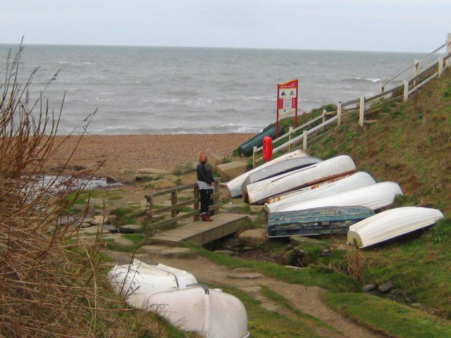 The mouth at Eype